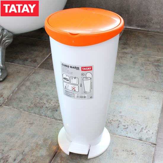 타타이 투웨니 8L 폐달 휴지통