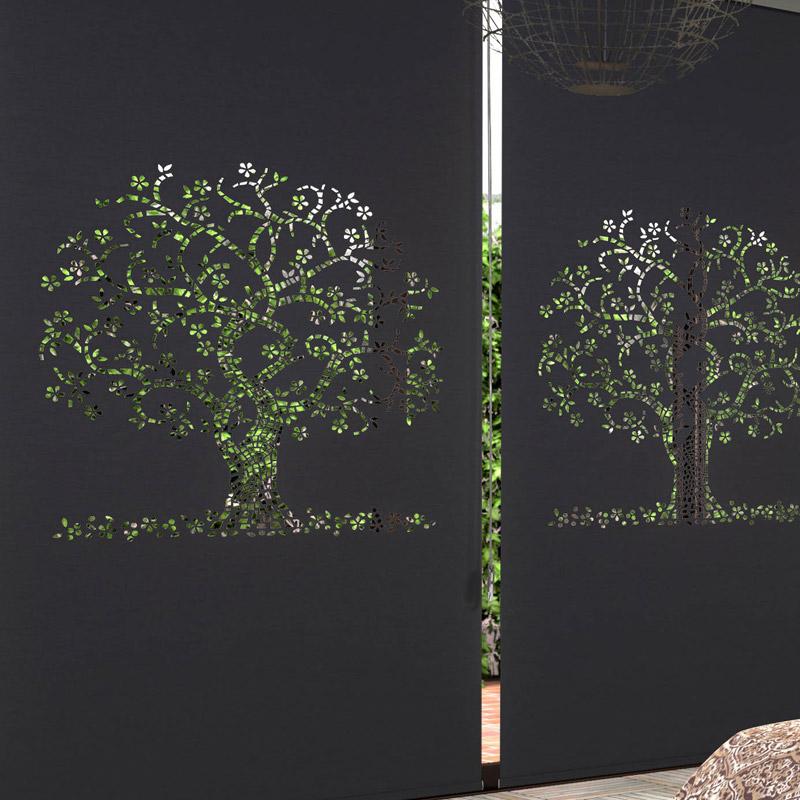 은은한 채광이 돋보이는 레이저 블라인드 CDC나무4