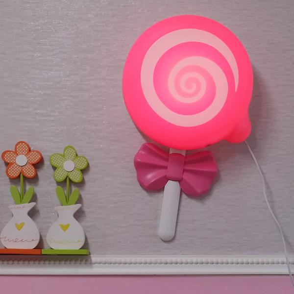 밝기조절 LED형 롤리캔디 벽등