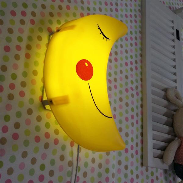 LED형 스마일달모양 벽등