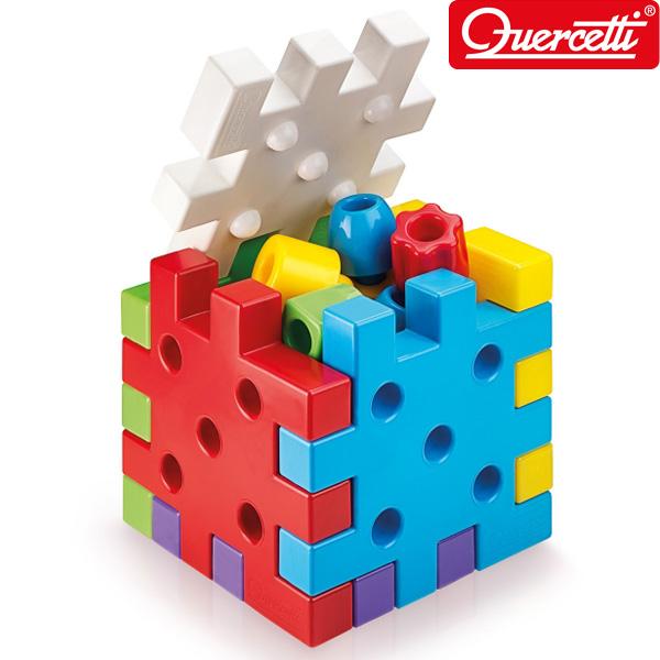 퍼즐 큐보 쌓기 19PCS_4045