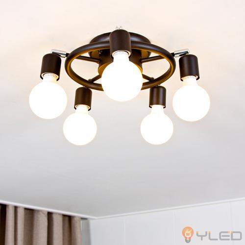 [LED방등] LED 펜타곤5등 직부