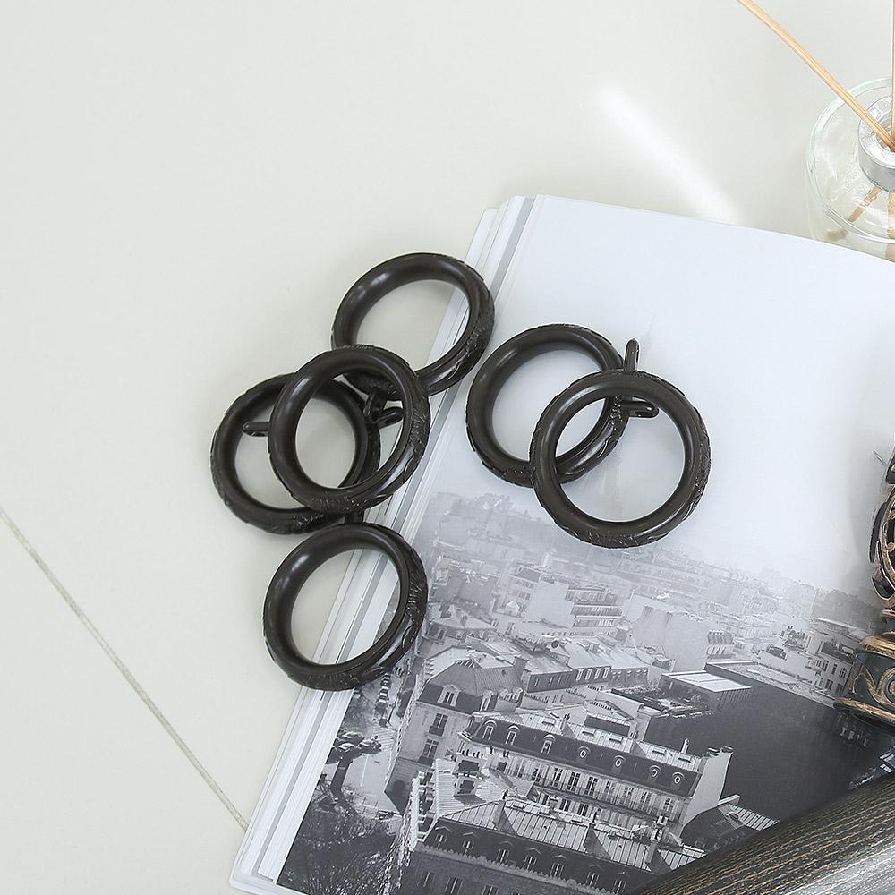 커튼링 10개 (지름3.5cm 커튼봉에 사용)