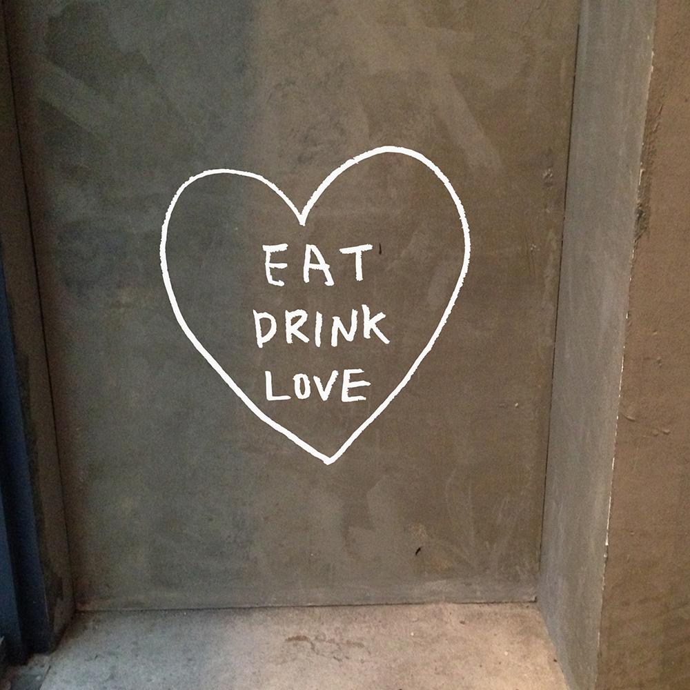 먹고마시고사랑하라A 스티커