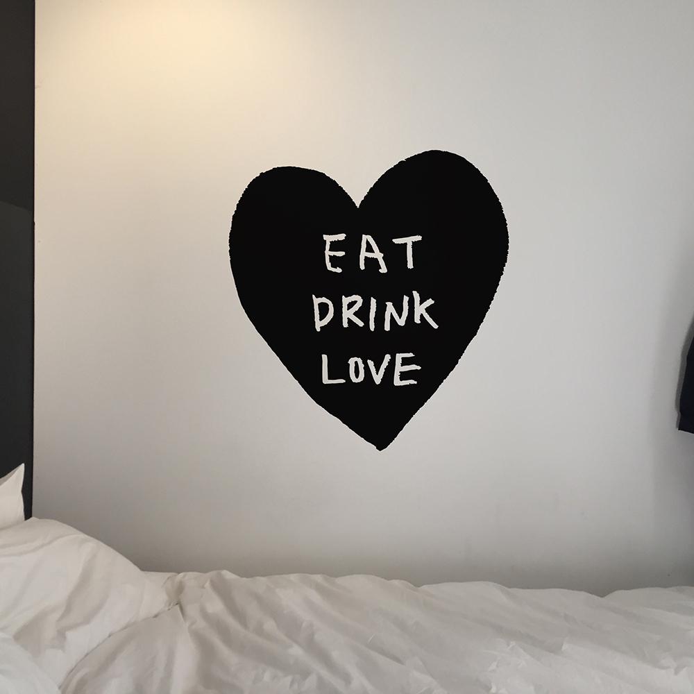 먹고마시고사랑하라B 스티커