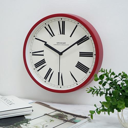 메종스탠딩시계(레드)