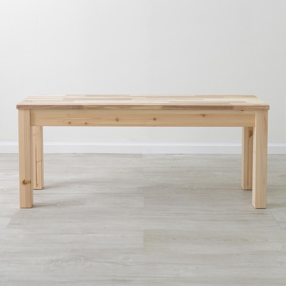 아카시아 원목 2인벤치 스툴 체어 의자