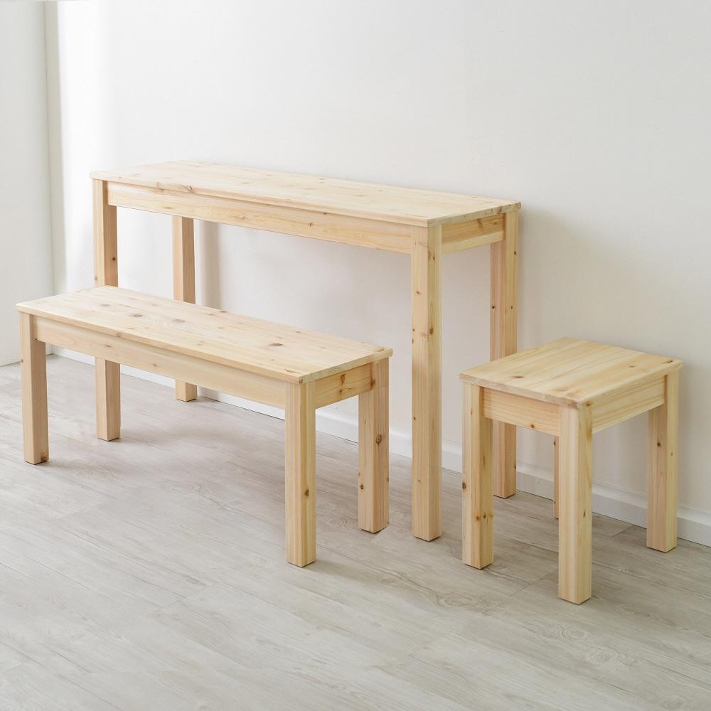 삼나무원목 800×300 다용도 사이드 테이블