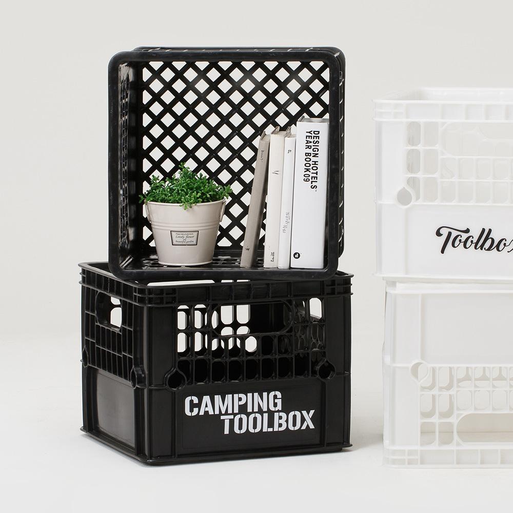 [스티커증정] 감성 캠핑박스 테이블세트 S [2color]