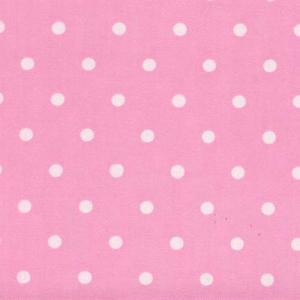 40수 (6mm)핑크&화이트도트 4093