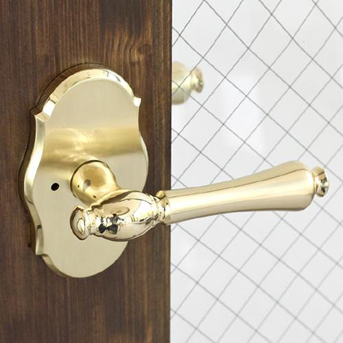 방문손잡이9019 Vienna Lock 20TA (문짝두께 50mm까지 호환)