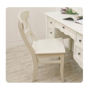 프렌치 원목의자