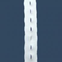 단추구멍 고무 (흰색/흑색)