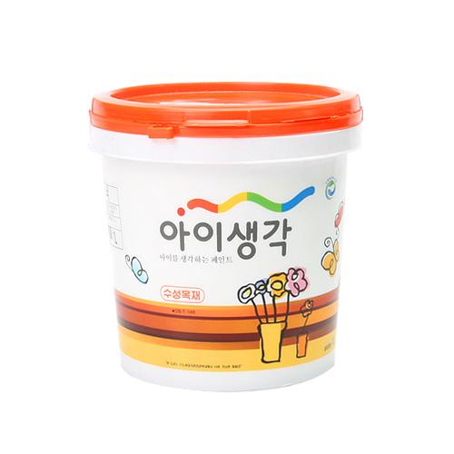 아이생각 친환경페인트 -수성목재R[반광] 1L