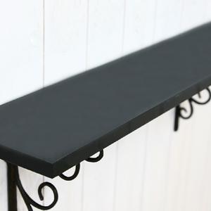 UV펄광택 선반상판 750 - 블랙(폭선택)