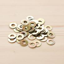 금속 와샤 4~5mm - 1봉(약20개)
