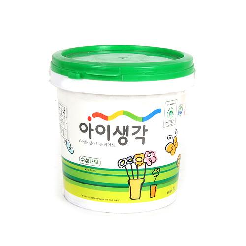 아이생각 친환경페인트 -수성내부G[무광] 1L