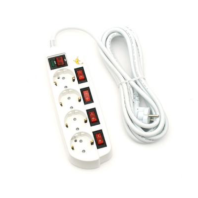 접지코드 멀티탭4구(안전절약형)