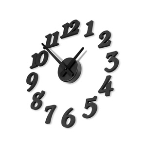 DIY 모던벽시계(소,블랙) ver.3
