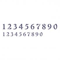 스텐실 도안_프로방스(숫자) 297x105
