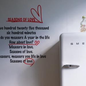 무쉬 Seasons of love