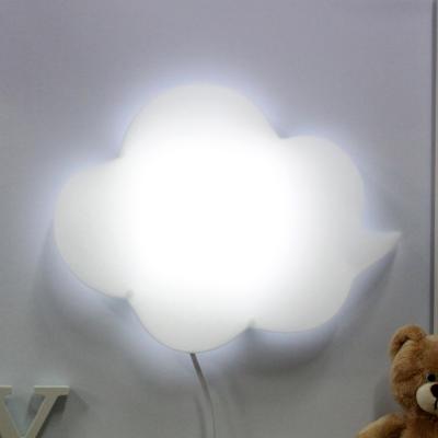 LED형 구름모양 벽등(화이트)