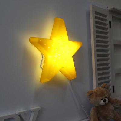 LED형 별모양 벽등(옐로우)
