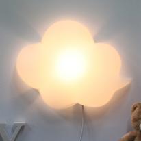 구름모양 벽등(화이트)