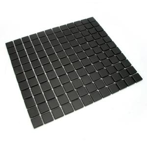 블랙 무광 모자이크 타일/25mm
