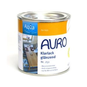 AURO 투명래커-실내용유광(no.251) [바니쉬대용]