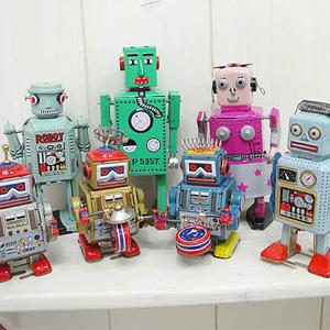 양철 로봇 친구들