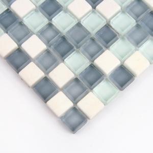 글라스믹스 블루 모자이크타일(SI-HG001)/14mm