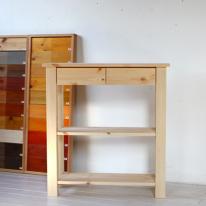 3단서랍테이블(무도색/DIY)