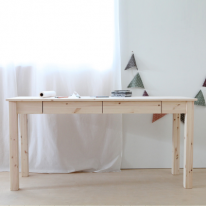 서랍달린좁고긴책상(무도색/DIY)