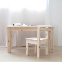 어린이책상의자셋트(무도색/책상-DIY,의자-조립완성제품)