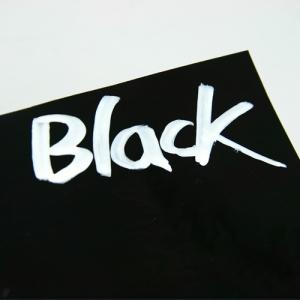 포에이 블랙 보드 시트지 - 장폭/단폭 1M