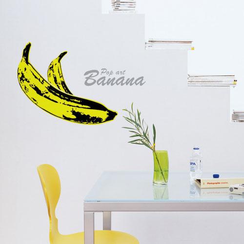 무쉬 팝아트 바나나