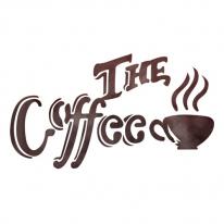 스텐실 도안_THE COFFEE(A5/A4)