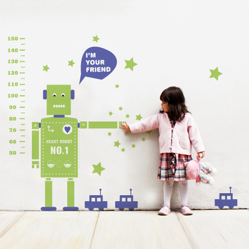 ROBOT FRIEND 로봇친구 키재기