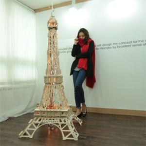 JWK 조립이 간단한 파리 에펠탑 (이벤트용품,크리스마스트리)