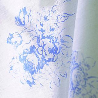 강추]수입풍린넨아일리쉬(블루)829