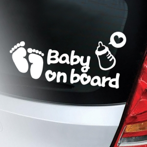 차량용그래픽스티커_MCS-07(Baby on board)