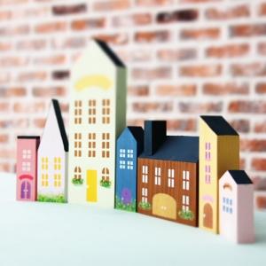 집만들기ver.2 7개세트(무도장)-스텐실 선택사항