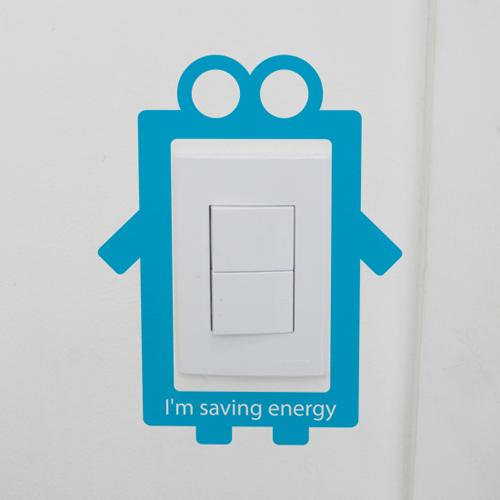 [itstics-imtory] 스위치스티커(saving energy)