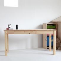 서랍있는 긴 책상(무도색/DIY)