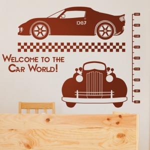 자동차나라 (아이방 테마룸스티커) 그래픽스티커 아이방 꾸미기