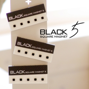Black Square Magnet (자석 5개입)