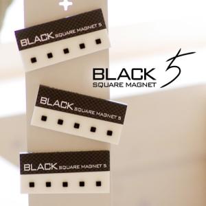 Black Square Magnet (자석 5개입)