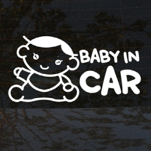 Baby in car 10