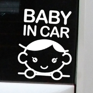 Baby in car 09